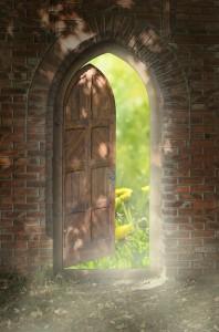 Door to new world.